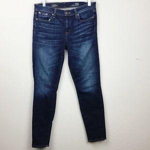J. Crew Skinny Toothpick Dark Wash Jeans Size 29